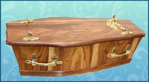 Coffin 1ft 9 inch